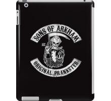 Sons Of Arkham STICKER, PRINT, I PAD, PHONE iPad Case/Skin