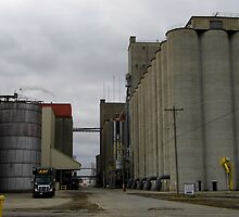 Cement Silos by WildestArt