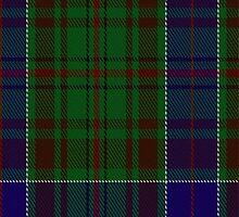 01517 Adams Family/Clan Tartan Fabric Print Iphone Case by Detnecs2013