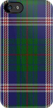 01530 City of Albuquerque District Tartan Fabric Print Iphone Case by Detnecs2013