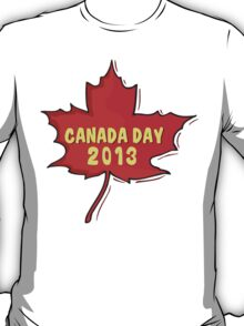 Canada Day 2013 T-Shirt