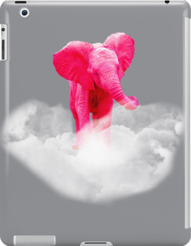pink elephant by capricedefille
