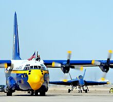 U. S. Navy Blue Angels' Fat Albert by Eleu Tabares