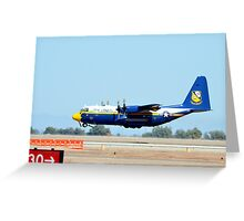 U.S. Navy Blue Angels' Fat Albert Greeting Card