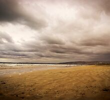 Stormy Middleton Beach in Summer, South Australia by Elana Bailey