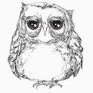 Fat owl is Unimpressed by annieclayton