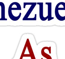 I'm As Venezuelan As It Gets Sticker
