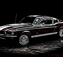 1967 Ford Mustang Shelby 350 Fastback by danielisted