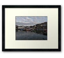 Cornwall Mevagissey Framed Print