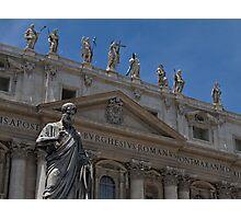 The Papal Basilica of Saint Peter Photographic Print