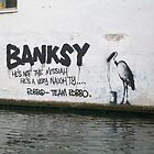 Camden Lock Banksy by Freyart