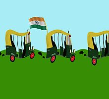 Auto Rickshaw - India by funkyworm