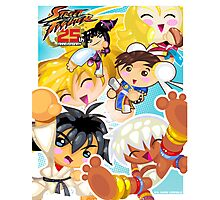 Street Fighter 25 Anniversary 2 Photographic Print