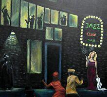 """Outside the Jazz club"" by Gabriella Nilsson"