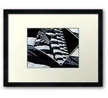 Infinite Scales of Rotation Framed Print