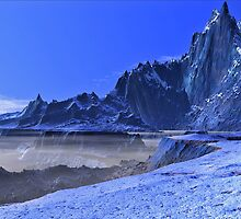 Blue Peak - Approaching South Face by AlienVisitor
