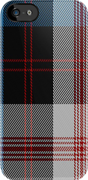 01572 Angus Dress (Convergence 98) District Tartan Fabric Print Iphone Case by Detnecs2013