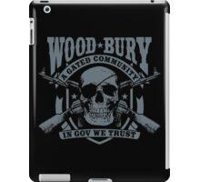 Woodbury Black iPad Case/Skin