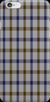 01582 Aquascutum Tartan Fabric Print Iphone Case by Detnecs2013