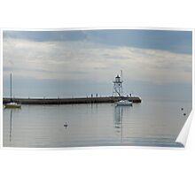 Grand Marais Harbor Light House  Poster