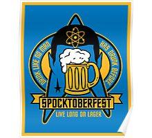 Spocktoberfest Poster