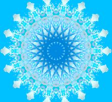 Mystical Snow Cloud Mandala by haymelter