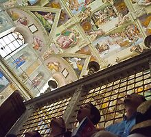 Sistine Chapel in Awe by thharris10