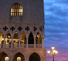 Palace of Doge's in Venice sunrise by kirilart