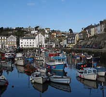 Cornwall, the port of Mevagissey by kirilart