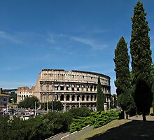The Colosseum in Rome by kirilart
