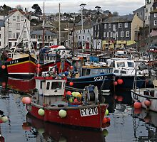 Cornwall Mevagissey by kirilart