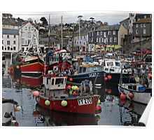 Cornwall Mevagissey Poster