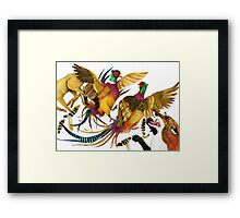 The Pheasants and the Fox Framed Print
