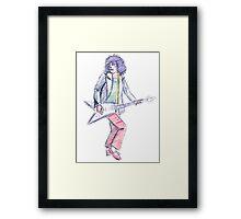 Marc Bolan - Get It On Framed Print