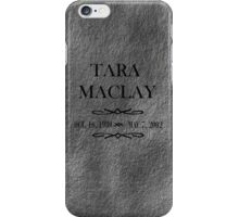 Tara's Grave iPhone Case/Skin