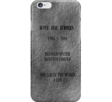Buffy Anne Summers iPhone Case/Skin