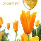 Tulips Mother's Day Card by judygal