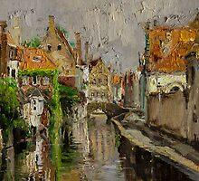 Brugge by Oleg Trofimoff
