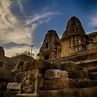 Sunrise at Modhera Sun Temple by Biren Brahmbhatt