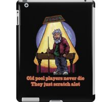 Old Pool Players iPad Case/Skin