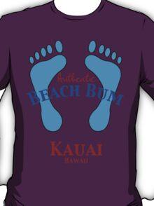 Authentic Beach Bum Kauai Hawaii T-Shirt