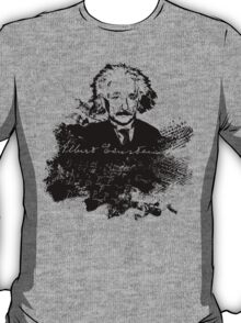 Albert Einstein - Theoretical Physicist - A Nerdy Tribute Design - Einstein Equation Shirt T-Shirt