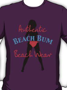 Authentic Beach Bum Neon Pink Bikini T-Shirt