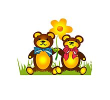 Teddy Bears Photographic Print