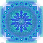 Blue Vibration Mandala Calendars 2014 by shoffman