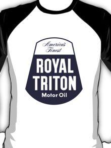 Vintage Royal Triton Motor Oil T-Shirt