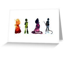 The Big Four Greeting Card