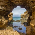 The Grotto Great Ocean Road by Madelaine Bleckly