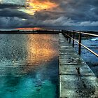 Nth Curl Curl Pool Sunrise by Ian English