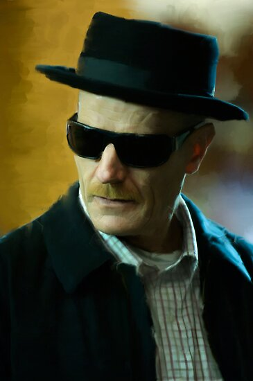 Breaking Bad Heisenberg  by art-hammer